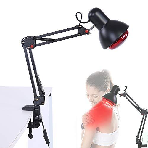 Infrarot Licht Heizungs Therapie Lampen Infrarot Wärme Physiotherapie Lampe Heizung Therapie Licht Schmerzlinderung Gesundheitswesen Schwarz(EU)