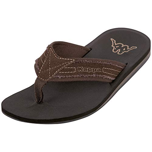 Kappa Sea, Chanclas para Hombre, Marrón 5050 Brown 5050 Brown, 41 EU