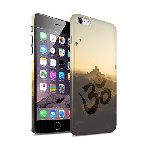 Clipser Brillant Coque de Stuff4 / Coque pour Apple iPhone 6S+/Plus / Bouddha de Pierre Design / Paix Intérieure Collection Temple OM