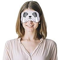 Preisvergleich für ITODA Augenmaske Lichtschutz Unisex Schlafmaske Kein Druck Augenabdeckung mit Elastischem Band für Damen Herren...