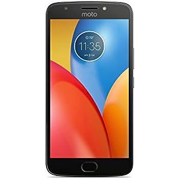 Motorola Moto E4 Plus Smartphone, Memoria Interna da 16 GB, Doppia Nano-SIM, Grigio (Iron Gray)