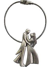 AyA Fashion Designer Premium Quality Metal Couple Keyring/Key Chain   Matt Polish Key Ring  Very Stylish And Trendy