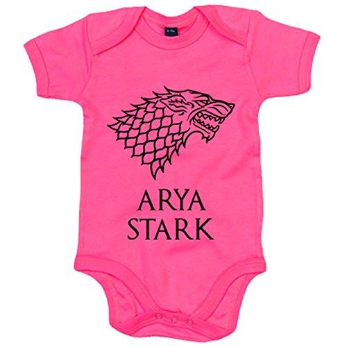 Body bebé Juego de Tronos Arya Stark - Rosa, 6-12 meses