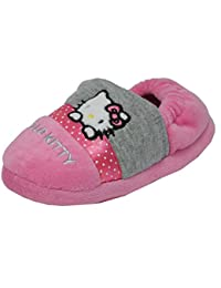 Hello Kitty , Chaussons pour fille rose rose