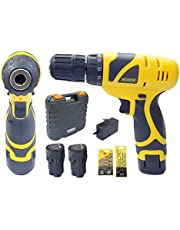 Cheston 10 mm Keyless Chuck 12V Cordless DrillScrewdriver w
