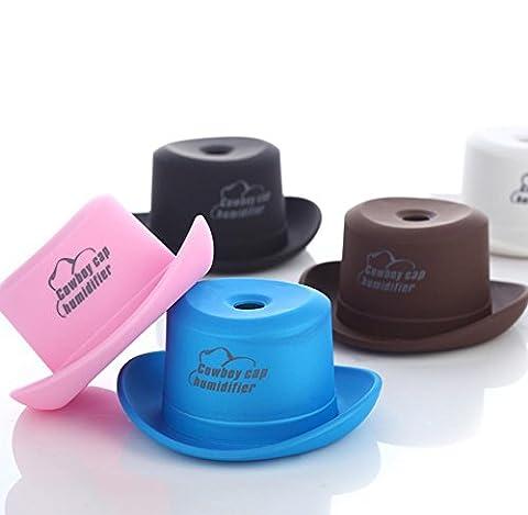 JY$ZB Cowboy Hut mini Zerstäuberflasche cleaner kreative USB-Luftbefeuchter Aromatherapie , pink