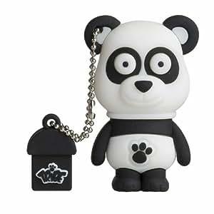 tribe animals 8 go cl usb flash drive 2 0 porte cl s panda paul blanc noir. Black Bedroom Furniture Sets. Home Design Ideas