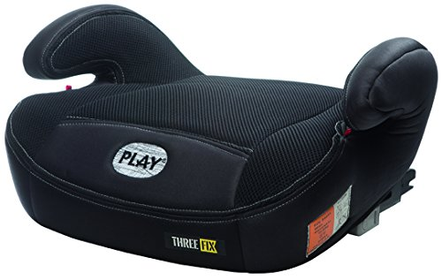 Play Three Fix, Silla coche grupo 2/3 Isofix, negro
