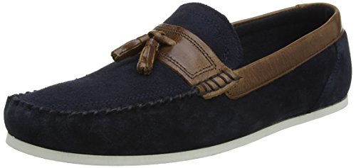 Red Tape Houghton, Mocassins (loafers) homme Bleu Marine