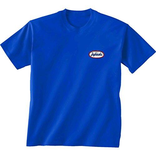 New World Grafiken Kansas NCAA Mechaniker Short Sleeve, Unisex, Kansas Mechanic, königsblau -