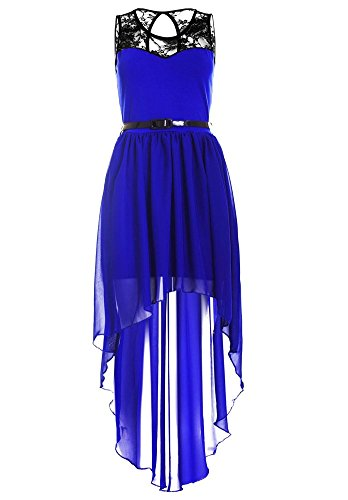 Drasawee - Robe - Trapèze - Femme Bleu