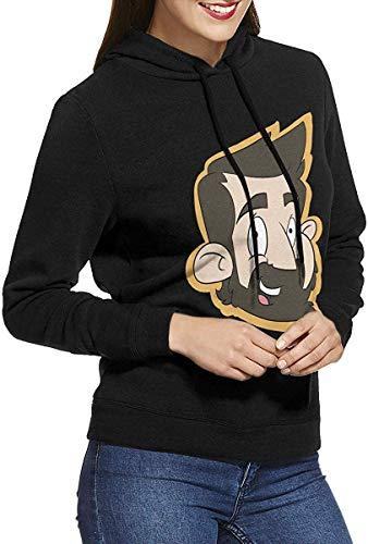 Aidn-Li Sudadera con Capucha de algodón Arctic Monkey para Mujer
