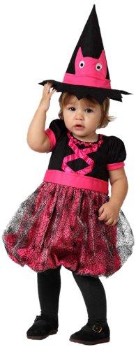 ATOSA 8422259148098 - Verkleidung Hexe, Größe: 0-6 Monate (Baby Hexe Kostüm 3 6 Monate)