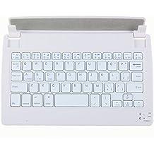 niceEshop(TM) Universal Inalámbrico Bluetooth 3.0 Teclado de 8 Pulgadas de la Tableta (rosa y Blanco)