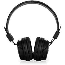 Auna DBT-1 Binaural Head-band Black - mobile headsets (Head-band, Binaural, Black, Wired/Wireless, Play/Pause, Track <, Track >, Bluetooth)