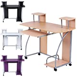 Infantastic® Kinder und Jugend PC-Tisch Computerschreibtisch Schreibtisch Computertisch buche
