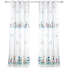 piezas cortinas infantiles estamapdas para ventanas dormitorios juveniles salones nios nias decoracin para