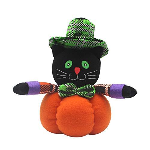 Dead Kostüm Doll Kind - Plüsch Kürbis Puppe Halloween Dekoration Puppen Kinder Kinder Spielzeug Halloween Weihnachten Geburtstagsgeschenk Wohnkultur