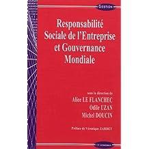 Responsabilité sociale des entreprises. Regards croisés droit et gestion - François-Guy Trébulle,Odile Uzan