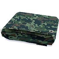 Abdeckplane | Camouflage | 100 g/m² | 5 Größen Casa Pura abdeckplane gewebeplane PP/PE Abdeckplane wasserfest (3 x 4 m)