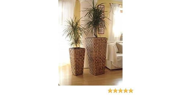 Casa Mina Wasserhyazinthe Blumenkübel Übertöpfe Pflanzkübel 2er Set ...
