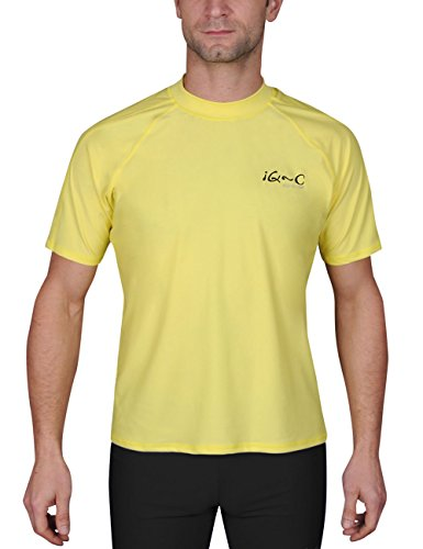 IQ-Company Herren UV-Schutz T-Shirt IQ 300 Watersport, Yellow, S, 648122_2228