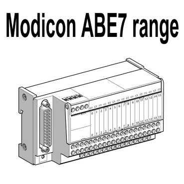 Schneider ABE7ACC11 Anschlussklemmenblock-Zubehör, Klemmenlock für redundante Eingänge