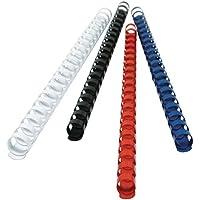 Titanium 68499 Dorso Plastico per Rilegatura, 20 mm, Blu - Confronta prezzi