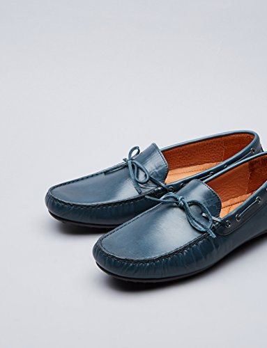 FIND Herren Mokassin Blau (Navy)