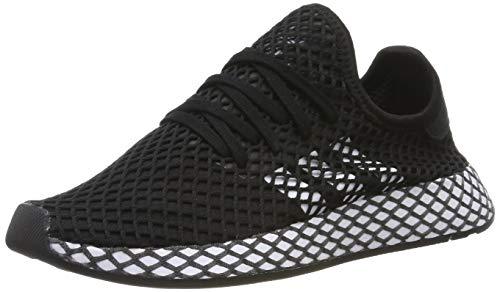 Adidas Unisex-Erwachsene Deerupt Runner J Fitnessschuhe, Schwarz(core black/ftwr white/grey five), 40 EU(6.5 UK) -