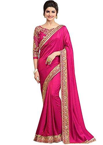 Zareen Fashion Women's PAPER SILK Multi-Colour Saree ( ZC4005 )