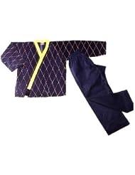 Hapkido–Chaqueta, color negro/amarillo, 160