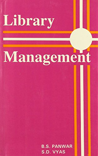 Library Management por B. S. Panwar
