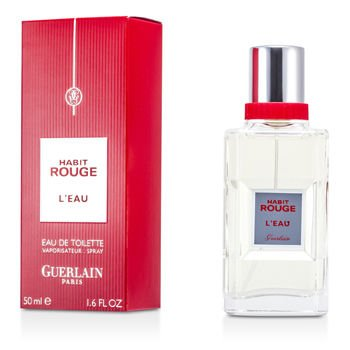 Guerlain Habit Rouge L 'Eau Eau De Cologne Spray