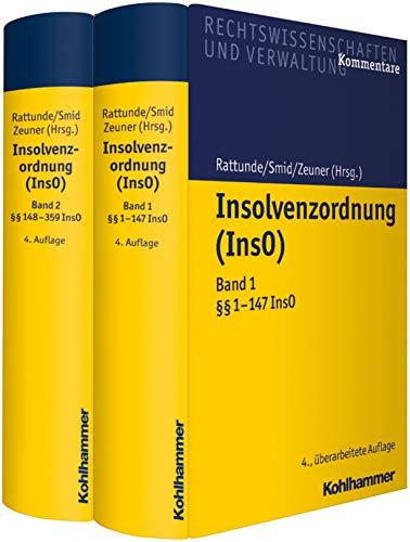 Insolvenzordnung (InsO): 2 Bände im Schuber