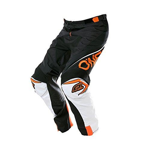 O'Neal Mayhem Lite MX DH MTB Pant Hose lang Blocker schwarz/weiß/orange 2018 Oneal: Größe: 42 (58) (Orange Mayhem Hose)