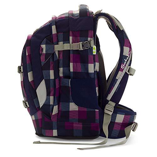 d8a5d84530 Satch pack zaino scuola 48 cm compartimenti portatile Berry Carry