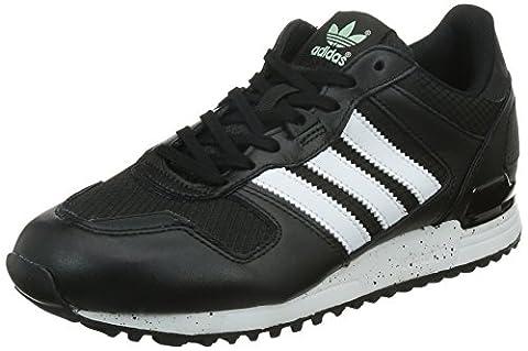 adidas Originals Damen ZX 700 Sneakers, Schwarz (Core Black/Ftwr White/Frozen Green F15), 42 EU