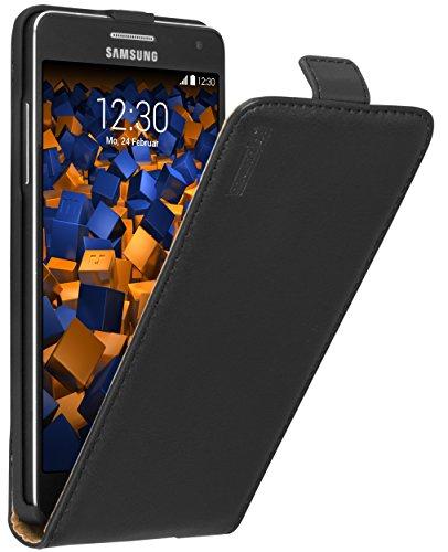mumbi PREMIUM Leder Flip Case Samsung Galaxy A5 (2015) Tasche -