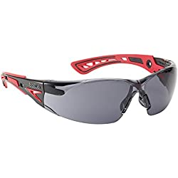 Bolle RUSH+SMOKE Smoke Lens Safety Glasses