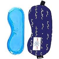 Healifty Natürliche Stoff Schlafmaske Augenmaske für Kinder (Nautik - Blue Wave) preisvergleich bei billige-tabletten.eu