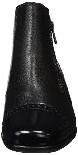 Semler Conny, Bottes Courtes avec Doublure Chaude Femme Noir - Noir (001)