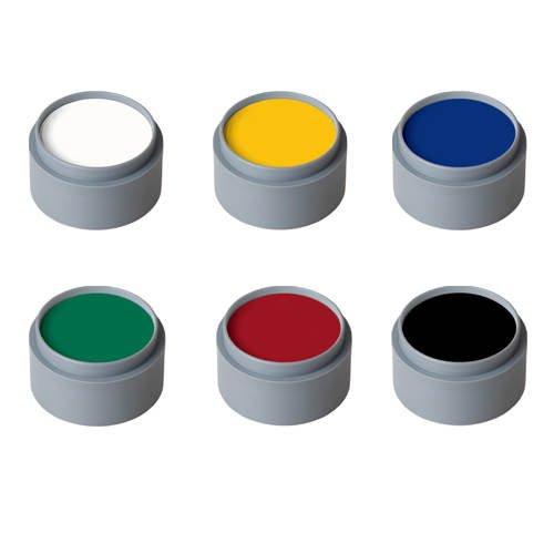6-farben-make-up (Water Make-up, 6-Farben-Palette, von Grimas [Spielzeug])