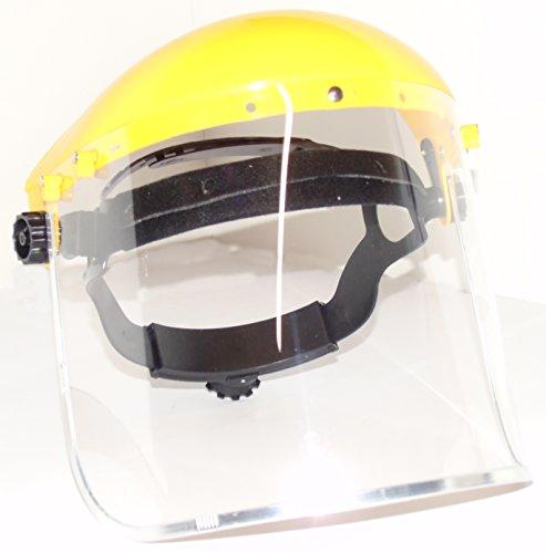 ESeno Industrial transparente de seguridad Face Shield y amplia visera