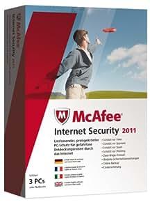 McAfee Internet Security 2011 - 3 User