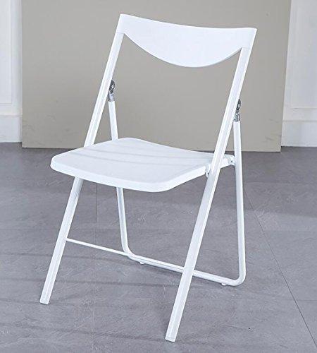 Chair QL Klappstühlen Nordic Casual Erwachsene Klapp Esszimmerstuhl Moderne Einfache Kreative Mode Home Zurück Stuhl (Größe: 46 * 45,5 * 81 cm) restaurant Klappstühle