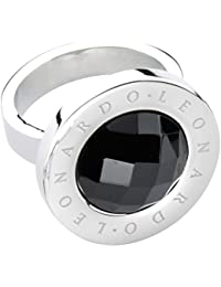 Leonardo Jewels Damen-Ring Matrix Edelstahl Glas