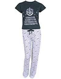 Harry Potter Pijama Verde Gris Slytherin