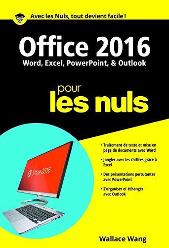 Office 2016 pour les Nuls poche par Wallace WANG