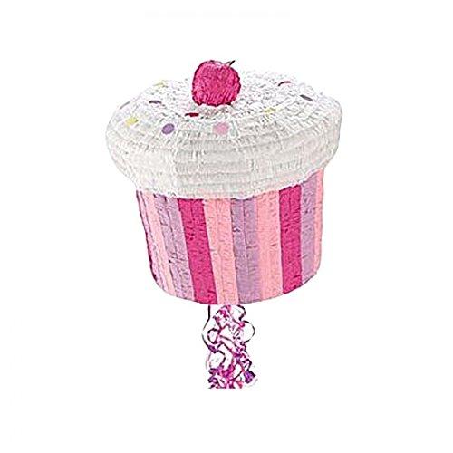 Unbekannt Aptafêtes–gu48529–Pinata Cup Cake zu Ziehen–27x 27cm